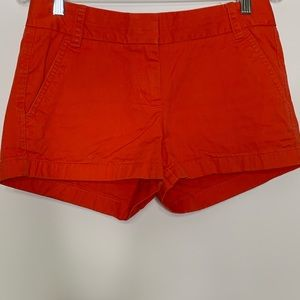 J Crew Women's shorts Broken In chinos cotton 2